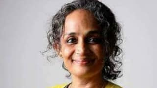 Intolerance inadequate to describe fear among minorities: Arundhati Roy