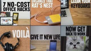 7 office hacks to organise everything that you struggle with at your workplace