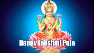 Diwali 2015 Lakshmi Puja Special: Know Puja Muhurat, Puja Vidhi & auspicious timings to celebrate Diwali today