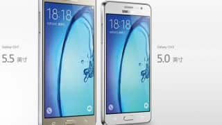 Samsung Galaxy On7, Galaxy On5 launched in India; to be exclusively available on Flipkart