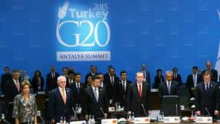 G-20 to combat terrorism, tackle uneven global economic growth unitedly