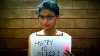 Happy to Bleed campaign launched to protest Sabrimala Temple board decision to install machine to test menstruating women