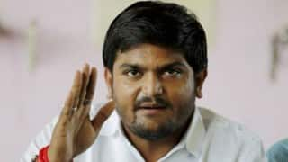 Hardik Patel's mother, sister detained during Anandiben Patel's rally