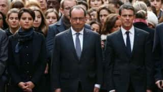 Nice truck attack: French President Francois Hollande pays tribute to victims