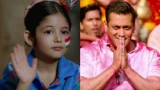 Harshali Malhotra calls her favourite star Salman uncle