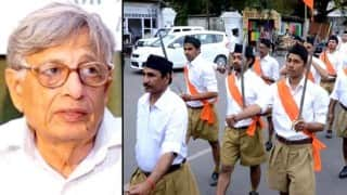 Historian Irfan Habib equates RSS with ISIS; calls Modi-government more communal than Atal Bihar Vajpayee's