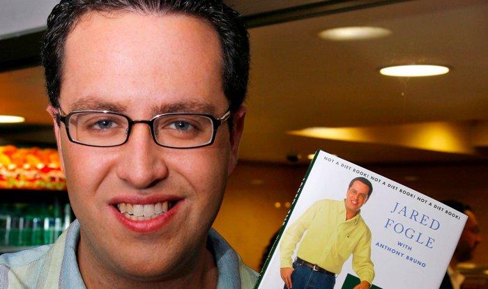 Shocking ex subway spokesman jared fogle jailed 15 years on child sex