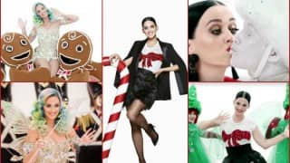 Christmas special Katy Perry H&M ad Every Day is a Holiday will get you in festive holiday mood!