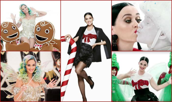 christmas special katy perry hm ad every day is a holiday will get you in festive - Hm Christmas
