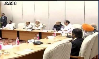 Winter Session: Narendra Modi holds meetings with BJP Parliament Executive, NDA constituents