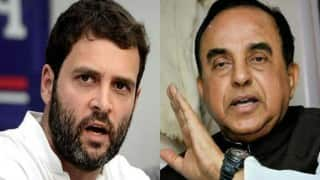 Subramanianam Swamy's charges against Rahul Gandhi a bunch of falsehood: Congress