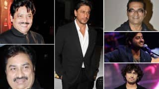 Which playback singer's voice best suits Shah Rukh Khan?