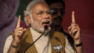 PM Modi promises employment in Bihar by creating rail locomotive factories; assures 24 hour electricity