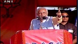 Narendra Modi rally in Darbhanga: Accuses Lalu Prasad Yadav of conspiring against Nitish Kumar