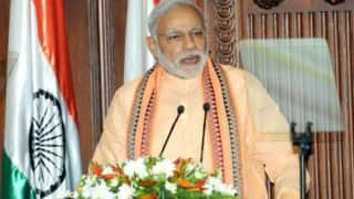 Narendra Modi launches gold schemes, coin with Ashok Chakra