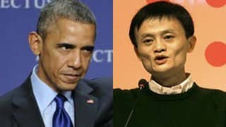 Barack Obama interviews Alibaba chief Jack Ma; billionaire advises US President to simplify tax regime