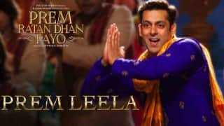 Prem Ratan Dhan Payo song Prem Leela making: How Salman Khan's lovable and fun number was created!