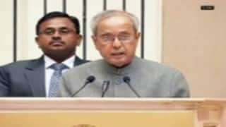 Pranab Mukherjee greets Oman on eve of National Day