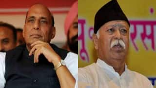Rajnath Singh meets Mohan Bhagwat: Is he looking to replace BJP president Amit Shah after BJP loss in Bihar?