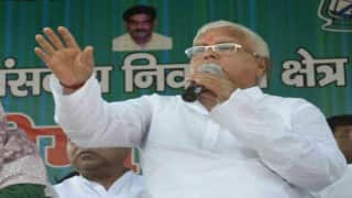 Nitish Kumar will be CM even if RJD wins more seats than JD(U): Lalu Prasad