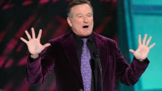 Robin Williams suffered from brain disease: Wife