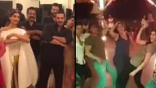 OMG! Salman Khan and Shah Rukh Khan Dubsmash each other's songs!