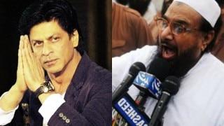 पाकिस्तानी आंतंकवादी हाफिज़ सईद ने शाहरुख़ को पाकिस्तान आने का न्योता भेजा