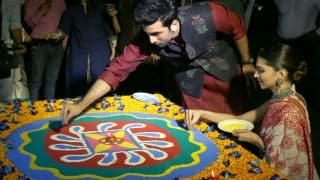 Ranbir Kapoor and Deepika Padukone celebrated the festival of lights together in Delhi (In Pics)