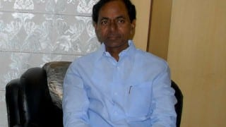 K Chandrasekhar Rao lays foundation stone of Hyderabad Police Commissionerate