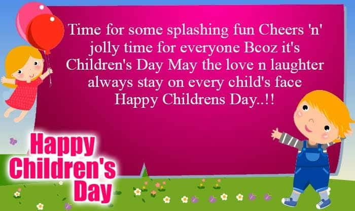 Happy Children's Day 2015 Quotes, Wishes, SMS, Messages: Best Pictures, Wallpapers, Greetings for Bal Divas