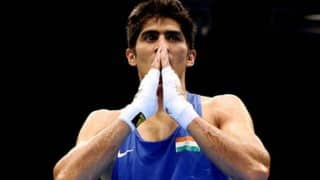 Boxing Ace Vijender Singh Sustains Eye Injury in Training, US Pro Debut Postponed