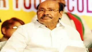 S Ramadoss offers to quit politics if more than one case exists against son