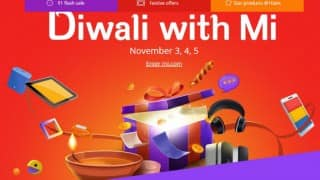 Xiaomi Diwali Sale offers phones at Re1 on flash sale; lucky one to win Mi TV