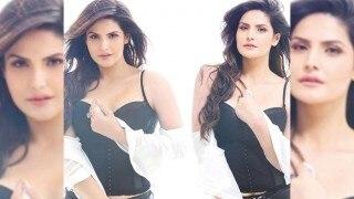Zareen Khan raises the heat as FHM India cover girl