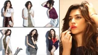 Dilwale girl Kriti Sanon pouts for The Juice Happy Holidays 2015 cover