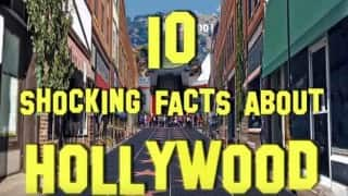 10 shocking facts from Hollywood