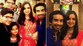 Lovebirds Sanaya Irani and Mohit Sehgal gets engaged! (See Pictures)