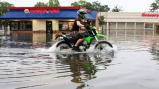 British bikers turn vigilantes; start anti-looting patrols to protect flooded areas