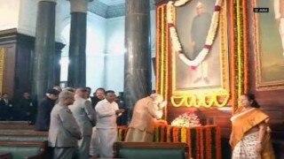 Pranab Mukherjee, Narendra Modi pay tribute to Rajendra Prasad on his birth anniversary