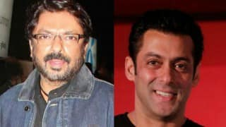 Salman Khan would be happy my dream 'Bajirao Mastani' fulfilled: Sanjay Leela Bhansali