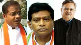 Ajit Jogi, son Amit Jogi and son-in-law of Raman Singh Punit Gupta caught fixing bypolls, audio tapes leaked