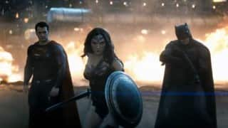 Batman v Superman: Dawn of Justice trailer 2 - Wonder Woman defends Bruce Wayne from Clark Kent's alter ego