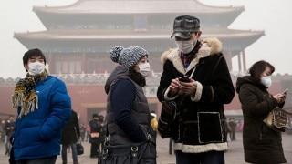 बीजिंग में स्मॉग, नारंगी चेतावनी होगी जारी