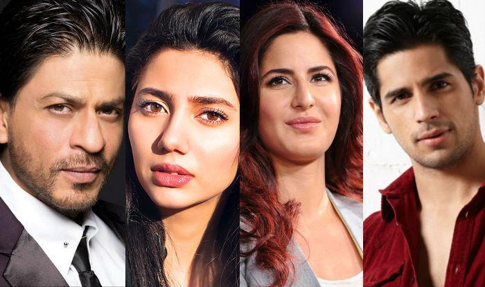 Shah Rukh Khan-Mahira Khan to Sidharth Malhotra-Katrina Kaif: 12 new