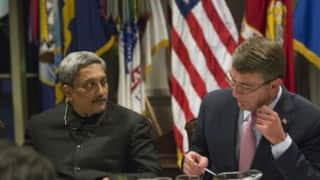 Manohar Parrikar given rare insight into US nuclear powered aircraft carrier