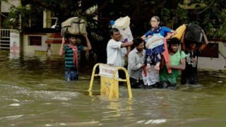 Puducherry LG reviews situation, visits rain-hit areas