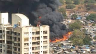 Major fire in Kandivali kills two, 200 shanties reduced to ashes