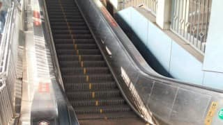 Nine injured as metro escalator malfunctions in Kolkata