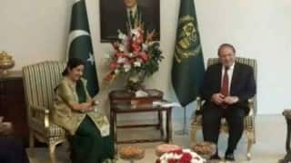 Sushma Swaraj to make statement on Indo-Pak developments on December 14