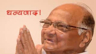 Maharashtra politicians come together to wish Sharad Pawar on birthday